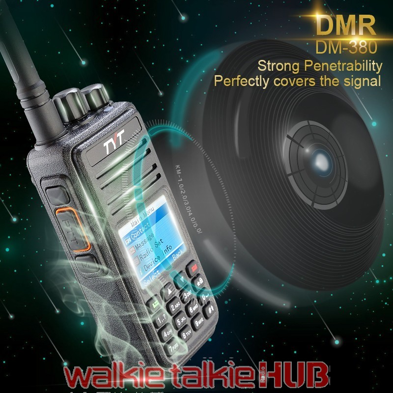 Wouxun KG-D900 UHF 400 000-470 995MHz DMR Digital Two-way