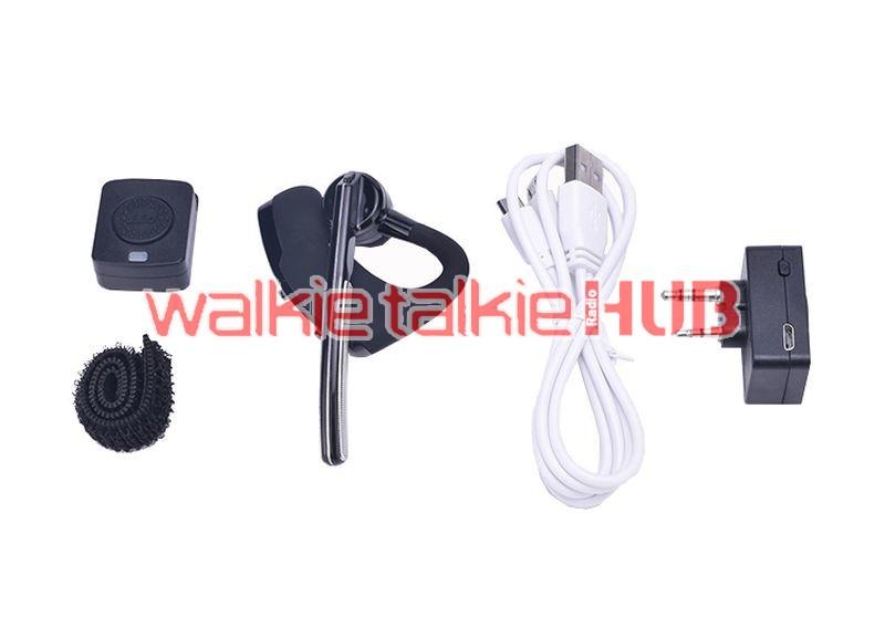 Motorola Kenwood Baofeng 888s Uv5r V4 0 Hands Free Walkie Talkie Bluetooth Headset Walkie Talkie Hub