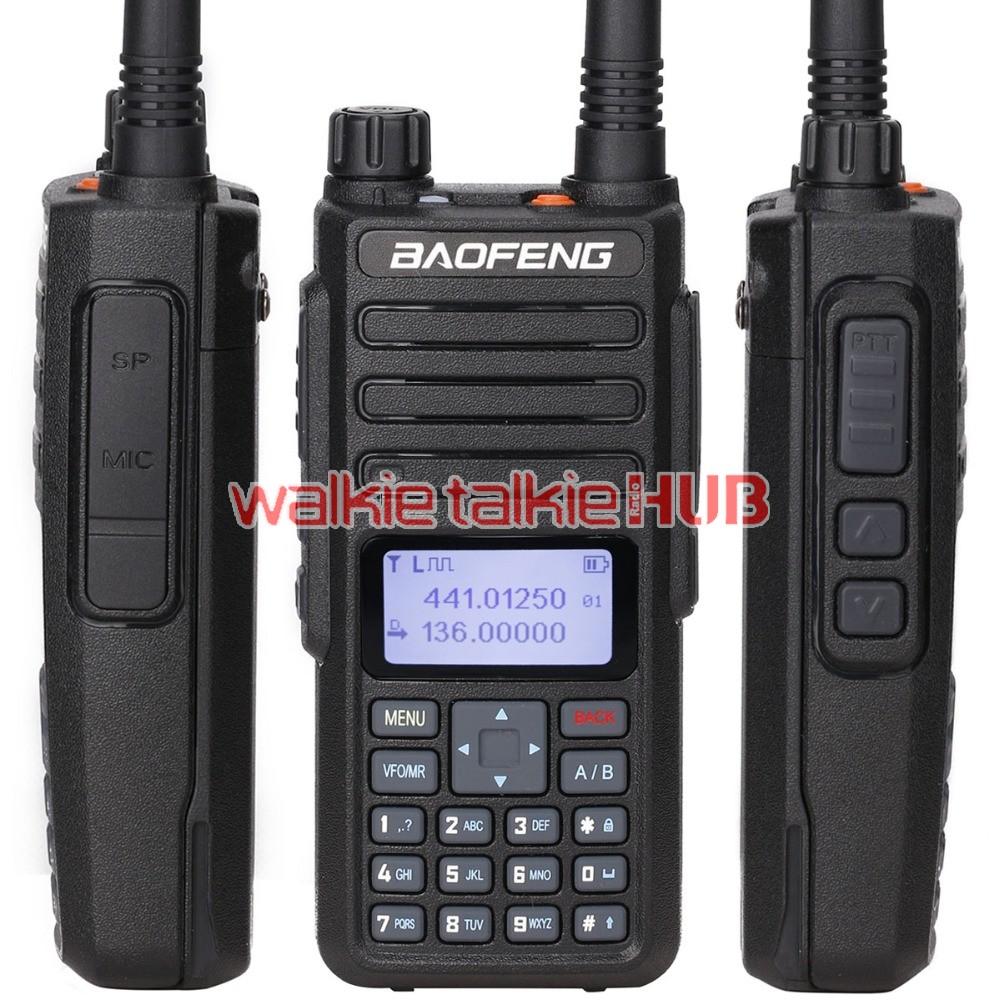 2PCS 2019 Baofeng DM-1801 DMR Digital Mobile Radio Compatible With Motorola