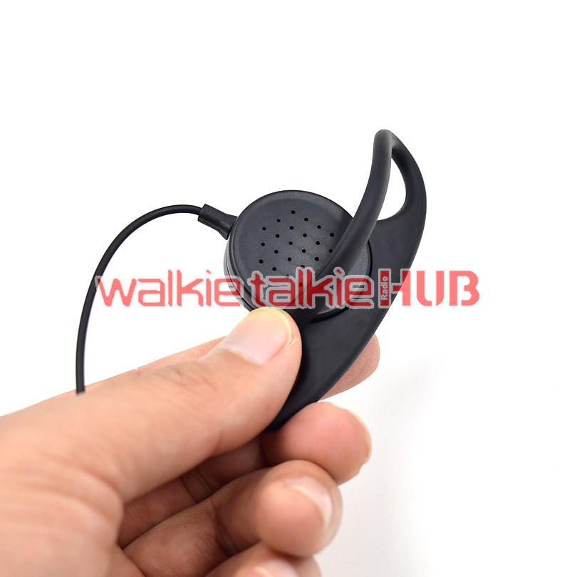 FBI Air Tube Earpiece Headset Mic for Baofeng GT-3 GT-3TP UV-5R+Plus UV-5RTP New