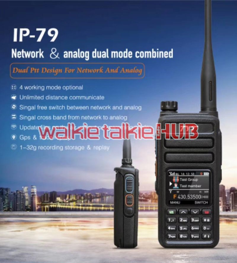 TYT IP-79 Unlimited Distance Analog Dual Mode Network Radio