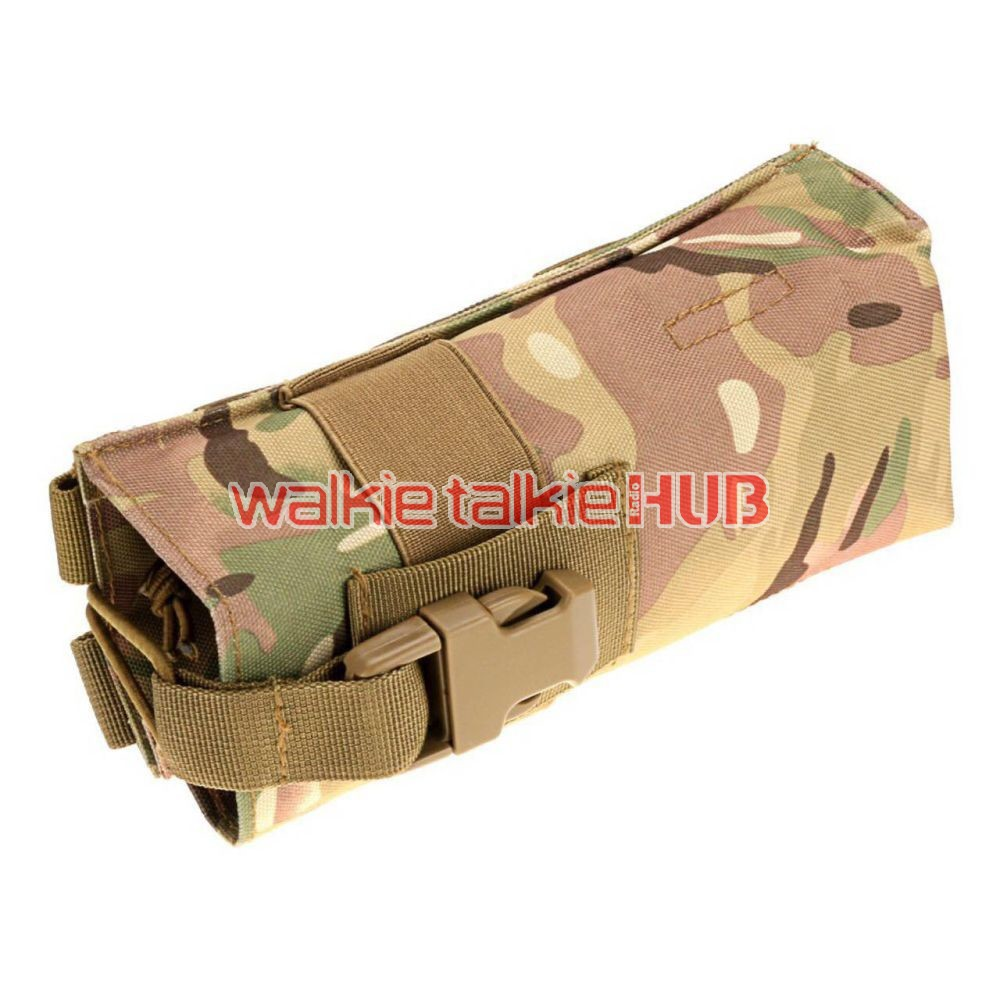MOLLE Military Walkie Talkie PRC148 PRC152 Tactical Radio Pouch